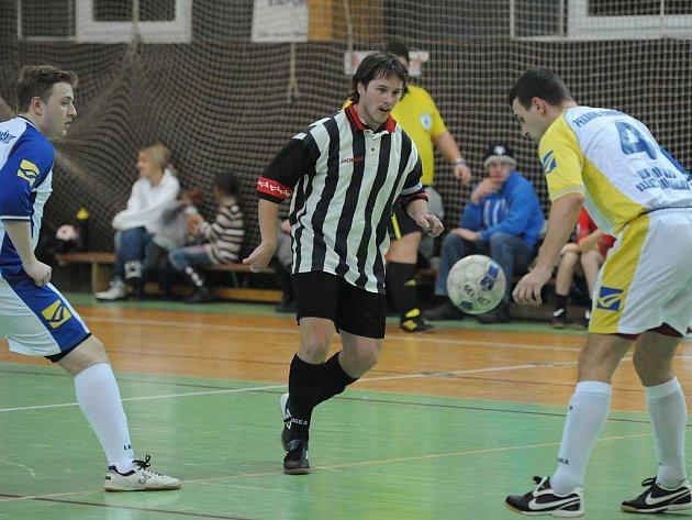 Divize futsalu: HFK Příbram - PK Třebusice (5:8).
