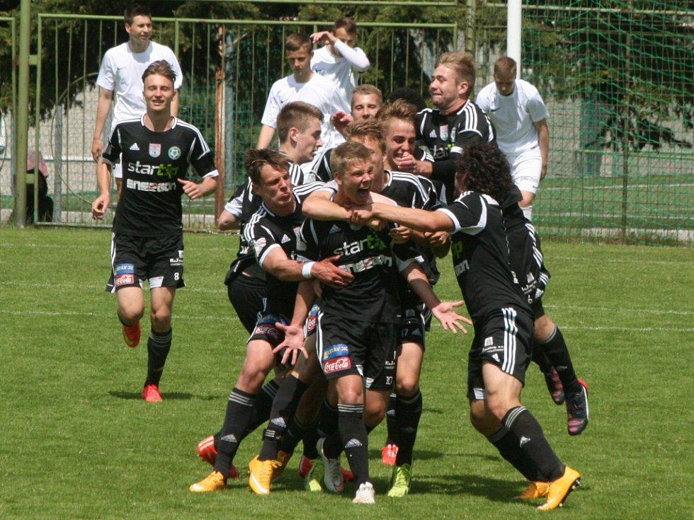 Česká liga U19: Příbram - Jablonec.