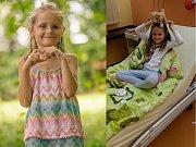 Spolek Radost příbramáčkům se snaží zajistit pomoc osmileté Anetce.