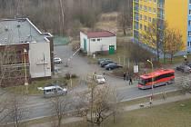 Nehoda ve Školní ulici.