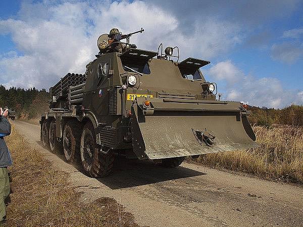 Dvoudenním cvičením s ostrými střelbami prakticky skončily ve výzbroji 13. dělostřelecké brigády raketomety.