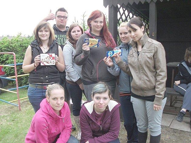 Třída 3.SC, studenti březnické VOŠ a SOŠ na posledním výletě.