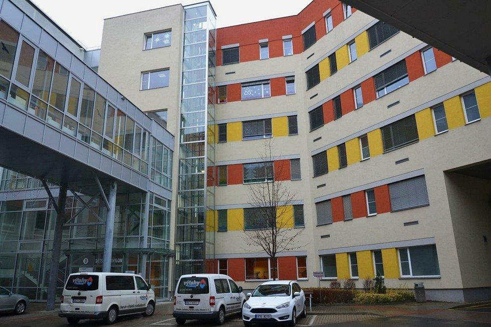 Oblastní nemocnice Kolín.