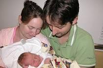 V neděli 13. září maminka Štěpánka a tatínek Láďa z Vysoké poprvé sevřeli v náručí svého prvorozeného syna Vojtíška Krále, který v ten den vážil 3,81 kg a měřil 50 cm.