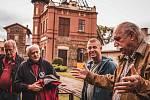 Zástupci poskytovatelů takzvaných Norských fondů na návštěvě Hornického muzea v Příbrami.
