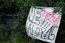 """Obyvatelé říkají těžbě kameniva jasné """"NE""""."""