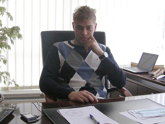 Petr Větrovský - generální ředitel 1.FK Příbram.