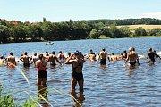 V sobotu se triatlonisté sešli na tradiční akci Albixon Dobříšský tvrďák.