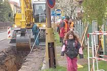 Kanalizace v Rožmitále začala už v loňském roce.