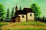 Kaple sv. Prokopa. Archivní obrázek.