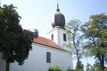 Kostel Povýšení svatého kříže Starý Rožmitál.