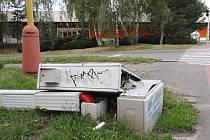 Neznámí vandalové zničili řadič semaforu v ulici Politických vězňů v Příbrami