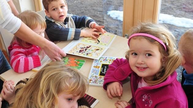 Spolkový dům v Obecnici už využívají předškoláci.