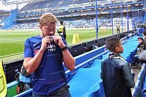 Marketingový manažer 1. FK Příbram Tomáš Větrovský je velkým fanouškem anglické Chelsea.