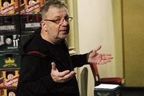 Herec a režisér Milan Šteindler z Divadla Sklep.
