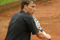2. liga tenisu: Bohutín - Písek (5:4). Petr Tumpach.
