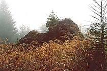 Fabiánovo lože na vrchu Velká Baba.