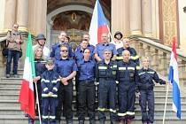 Z běhu hasičů do svatohorských schodů v Příbrami.