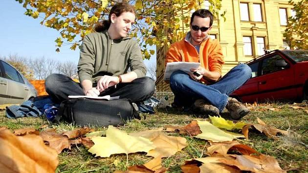 Listopadové počasí vůbec neodpovídalo podzimnímu období a když vylezlo sluníčko, začaly místy padat rekordní teploty.