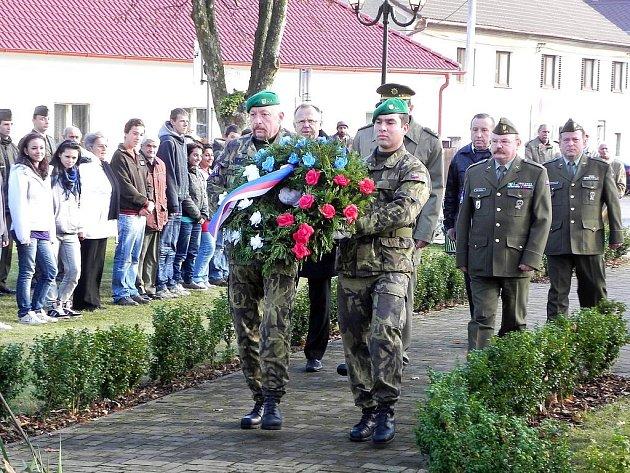 Den válečných veteránů v Jincích.