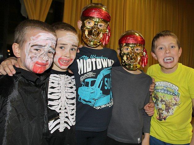 Halloween v Domě dětí a mládeže Příbram.