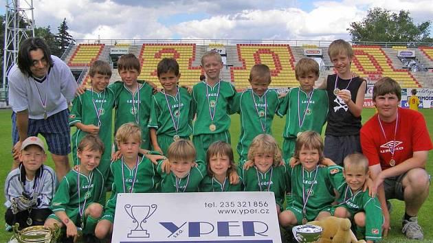 Vítězem druhého ročníku YPER ligy nejmenších přípravek (roč. 1999) se letos stal Tatran Sedlčany.