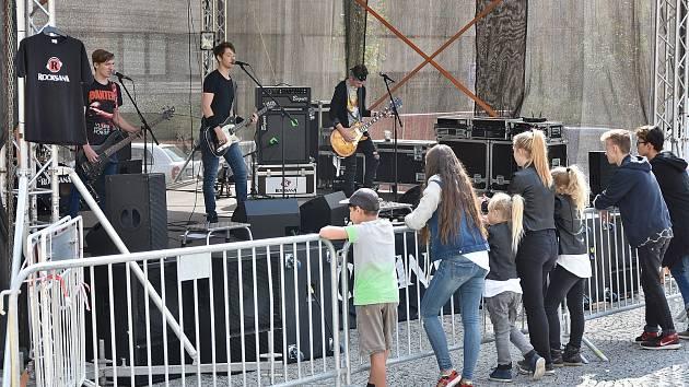 Rocksana o víkendu zahajovala Rockové odpoledne Příbramského kulturního léta.