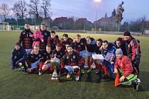 Vítězové. Pohár starosty města patří po deseti letech domácímu Spartaku Příbram.