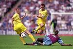 16. července 2000 se v rámci Intertoto Cupu představila v Příbrami anglická Aston Villa.