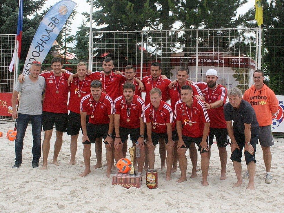 Central Europe Cup v plážové kopané - 3. místo: Slovensko.