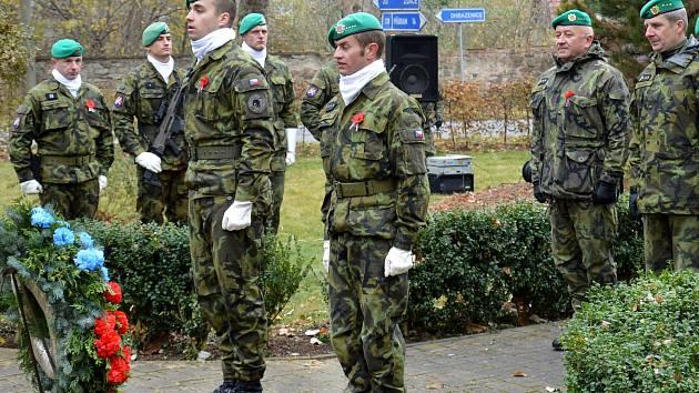 Jince si připomněly Den válečných veteránů.
