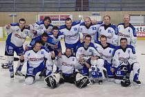 Vítěz Meziokresního přeboru v ledním hokeji 2011-12: Slavoj Obecnice.