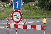 Řidiči musí o víkendu počítat při cestě z Příbrami do Milína s dopravním omezením.