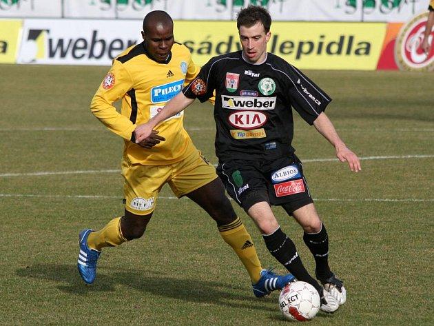 Gambrinus liga: Příbram - Bohemians Praha (3:2).