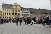 Druhá dubnová sobota patřila v centru Příbrami opět přejezdu nejkratší silnice s číslem 66 na světě.