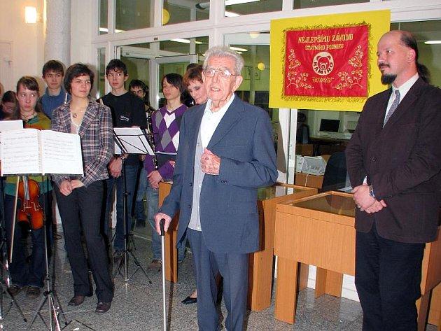Zahájení výstavy v okresním archivu v Příbrami.