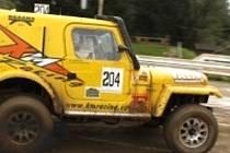 Jeep sedlčanského týmu KM Racing.