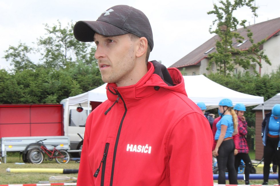 Z pátého kola Brdské ligy v požárním útoku ve Vranovicích.