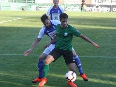 Utkání 10. kola FORTUNA:LIGY 1. FK Příbram - Mladá Boleslav 3:0 (1:0).