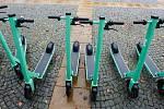 Elektrické koloběžky (ilustrační foto).