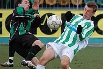 Daniel Tarczal slavil v sobotu své 23. narozeniny. Po utkání ale měl více radosti bývalý příbramský hráč v dresu Bohemians Tomáš Fenyk.