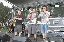 Fialka Fest 2014 v areálu Nového rybníku v Příbrami.