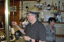 Příbramský pivní bar U Havlínů.