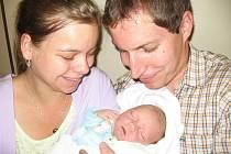 Vojtěch Příman  po příchodu na svět ve středu 17. června vážil 3,20 kg a měřil rovných 50 cm. Útulný domov pro svého prvorozeného synka přichystali v Příbrami maminka Adéla a tatínek Petr.