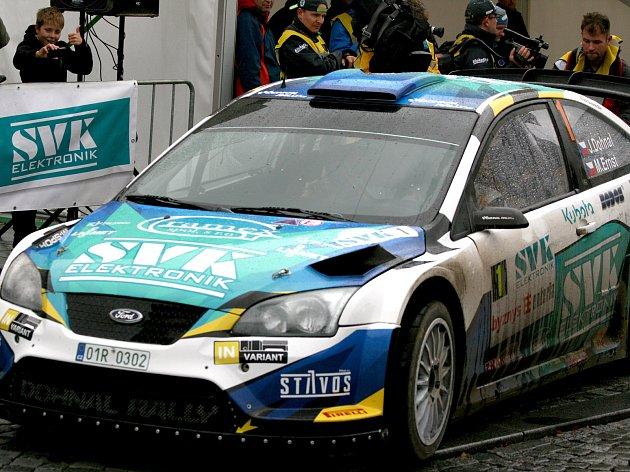 Obhájce vítězství Jan Dohnal nebude se svým vozem chybět na startu letošní 39. SVK Rally Příbram.
