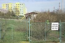 Dětské hřiště na Větrníku v Dobříši.