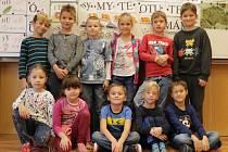 Prvňáčci z Obecnice ve školním roce 2019/2020.