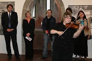 Zahájení Středočeského bienále v Galerii Františka Drtikola v Příbrami