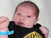VAŠÍK SLÁMA se narodil v pátek 10. března o váze 4,63 kg a míře 55 cm mamince Kláře a tatínkovi Václavovi z Vrančic.