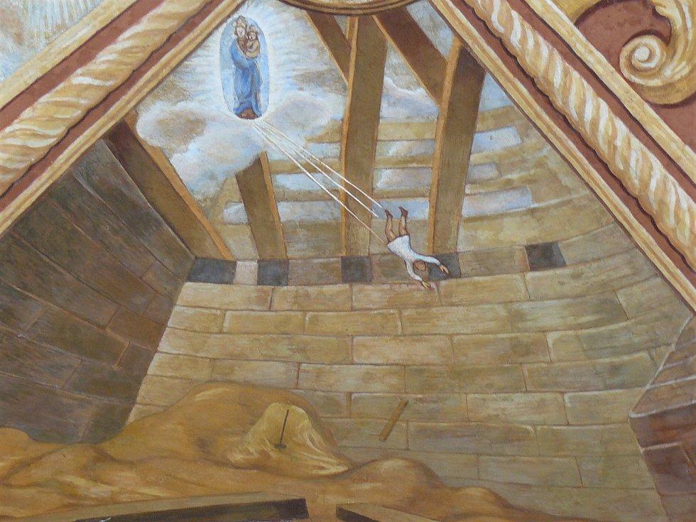Sto svatohorských milostí: obraz číslo 7.